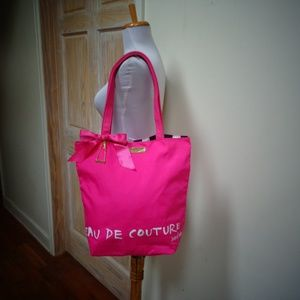 NWOT JUICY COUTURE NYLON SHOPPING TOTE BAG